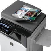 Daugiafunkcinis spausdintuvas Sharp MX-2640N_valdymo ekranas