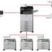SHARP MX-3111U konfiguracija