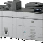 SHARP MXM654N ir MXM754N išplėsta komplektacija