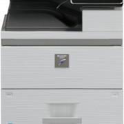 SHARP MXM754N ir MXM654N bazinė komplektacija