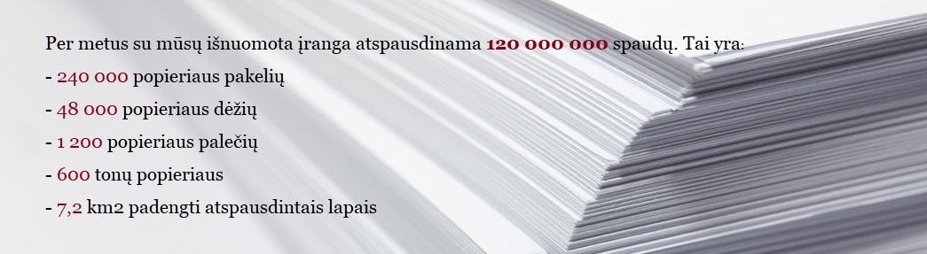 spausdinimo popierius kopijavimui