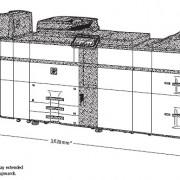SHARP MX-7040N gabaritai