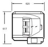 SHARP MX-M266N gabaritai