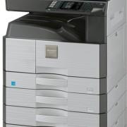 Sharp AR6020N_6023N su 4 popieriaus stalčiais