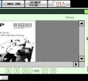 Vaizdo peržiūra spalvotame ekrane prieš jį spausdinant ar persiunčiant