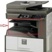 Vidinis darbų atskirtuvas atskirs pavyzdžiui kopijavimo spausdinimo darbus nuo gautų faksų
