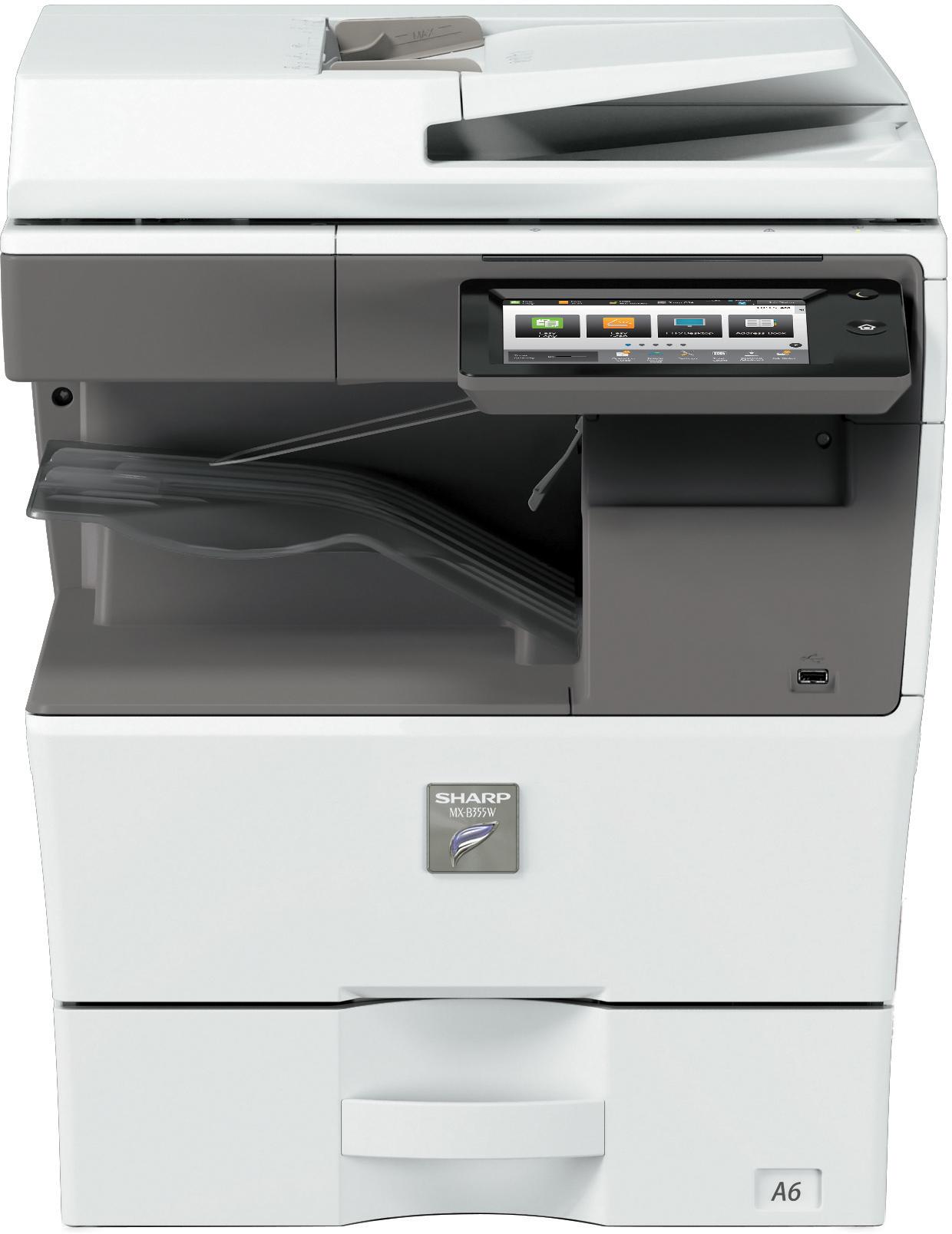 Sharp MXB355W_MXB455W front