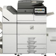 Sharp mx-m7570-finisher and LCD